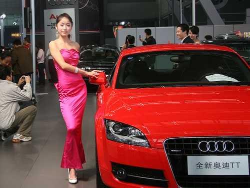 """赏""""2007西安国际汽车博览会""""香车美女 2007香车美女"""