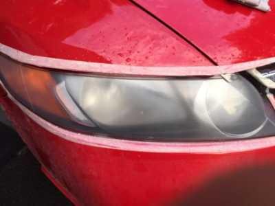 大灯修复过程详解 汽车大灯修复液