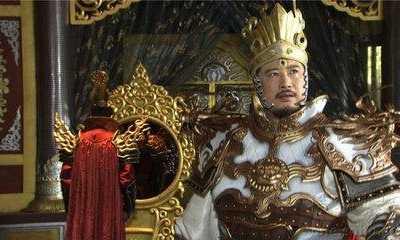 史上最帅二郎神 焦恩俊杨戬图片铠甲