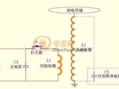特斯拉线圈制作揭秘之放电原理简要分析 特斯拉线圈原理