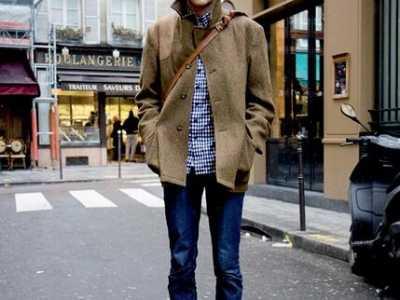 男士格子衬衫搭配什么外套衣服好看 格子衫搭配
