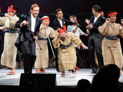 日本最年老组合KBG84圆高龄奶奶偶像梦 老奶奶组合