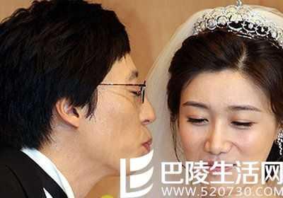 刘在石结婚李孝利哭了 李孝利婚礼