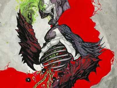 再生侠25周年纪念画 来自地狱的男人百科