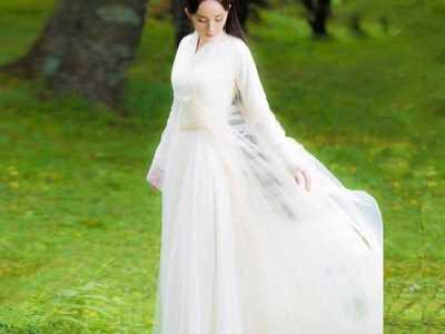 杨幂在古装剧中最惊艳的6套衣服 杨幂的白色衣服