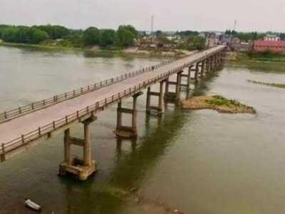 该桥是通往江浙沪的重要通道 安徽国道大桥拆除