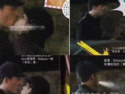 丁丁和张玮后场接吻图片遭曝光 丁丁和杨坤后场接吻