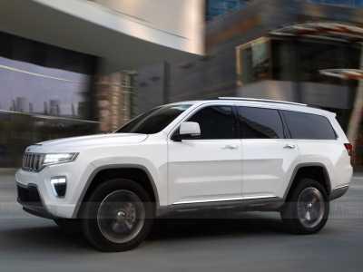 Jeep全尺寸SUV最早2020年底亮相 道奇公羊suv