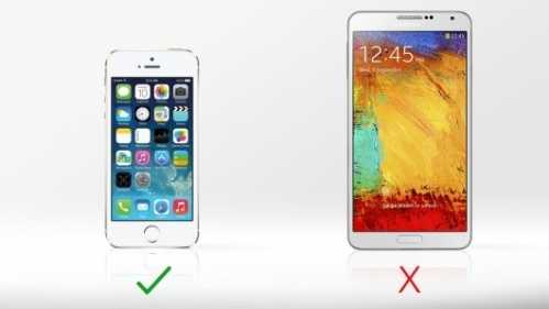 三星Galaxy Note III VS苹果iPhone 5S详细性能比较 三星noteiii