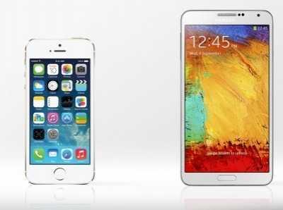 三星Galaxy Note III VS苹果iPhone 5S详细性能比较 三星noteiii